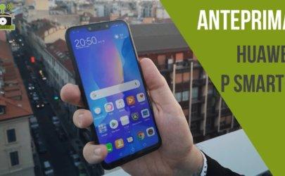 Anteprima Huawei P Smart+