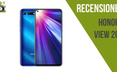 Video Recensione Honor View 20