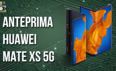 Anteprima Huawei Mate Xs 5G